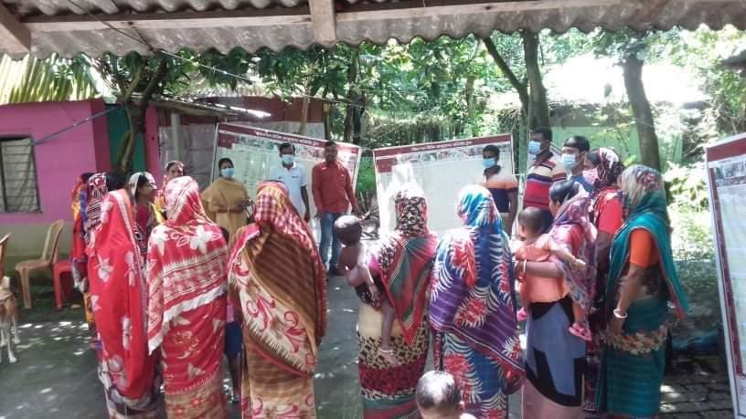 ডুমুরিয়ায় হেলদি ভিলেজ ঘোষণার জন্য গণ মনিটরিং সম্পন্ন